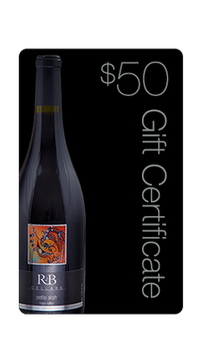 $50 R&B Cellars Gift Certificate